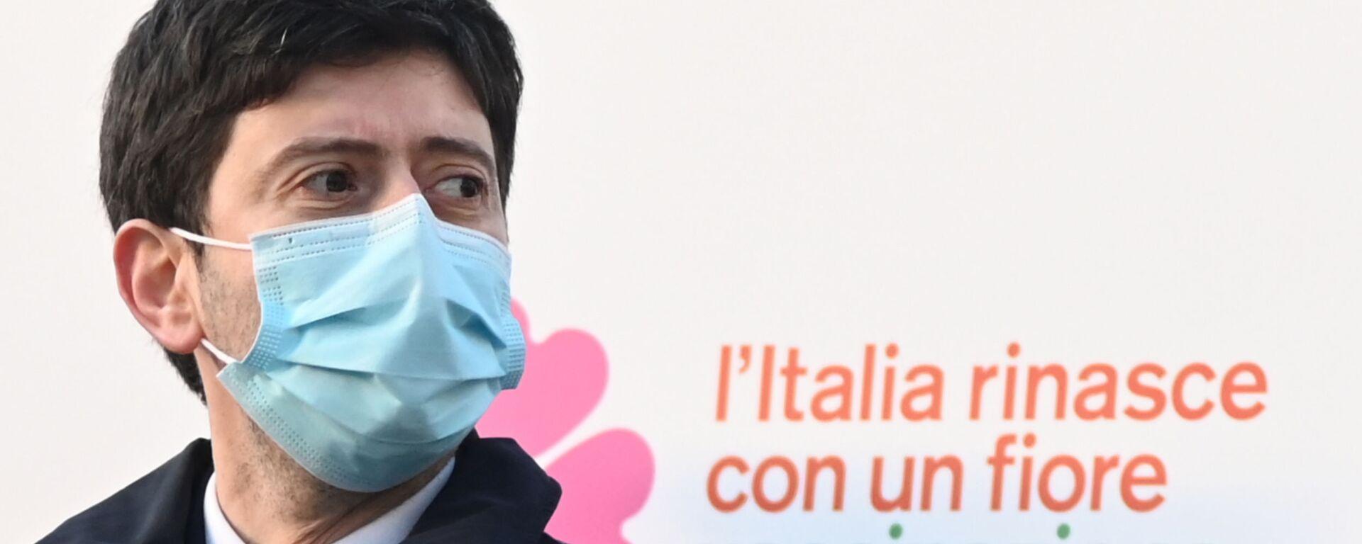 il Ministro della Salute Roberto Speranza - Sputnik Italia, 1920, 08.09.2021