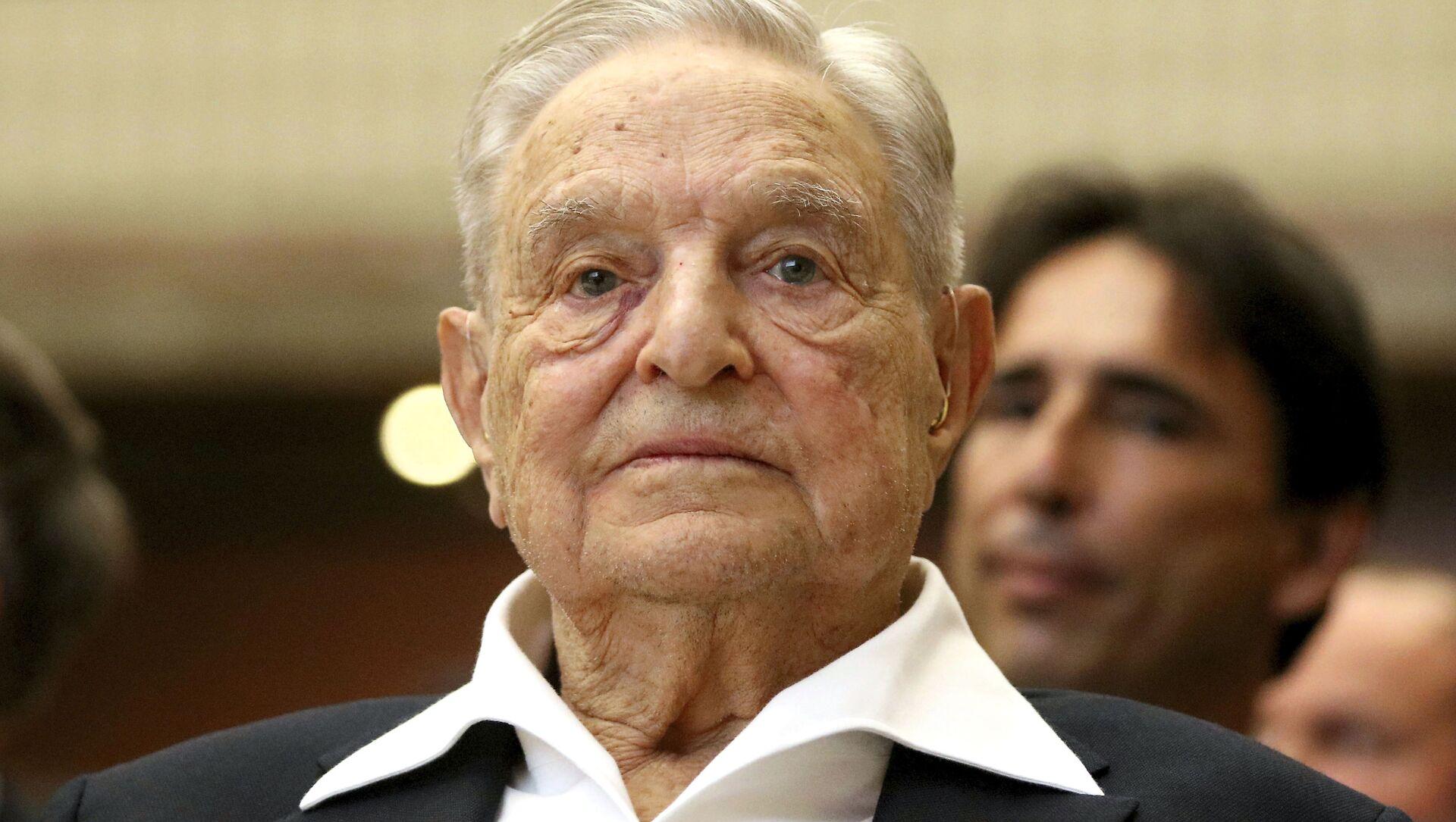 George Soros - Sputnik Italia, 1920, 05.04.2021