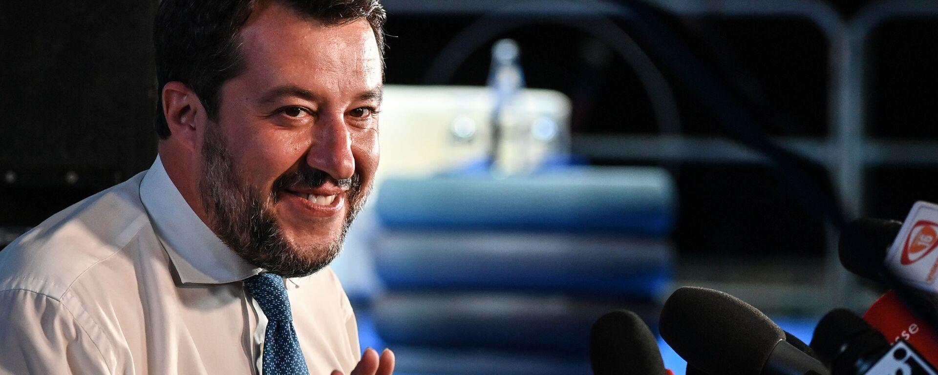 Matteo Salvini - Sputnik Italia, 1920, 09.02.2021