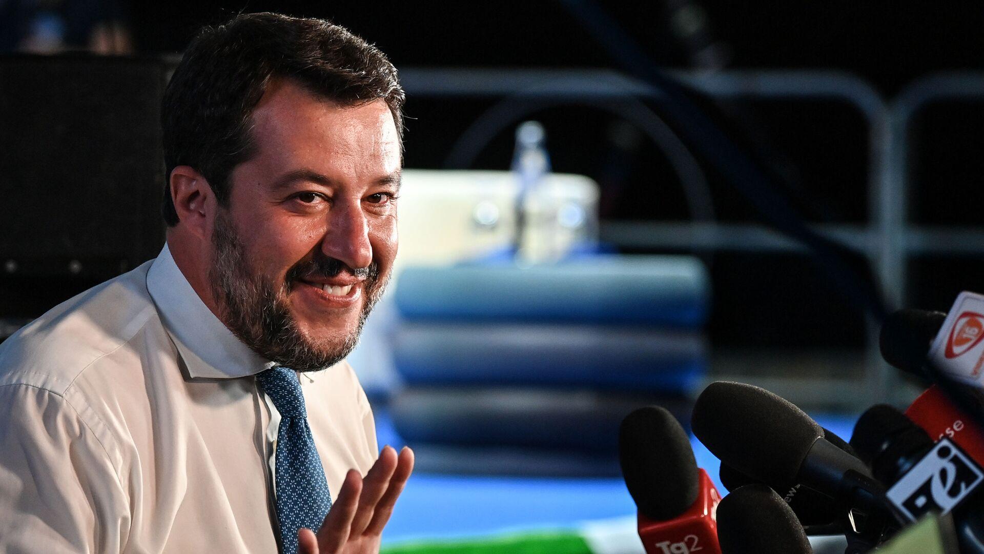 Matteo Salvini - Sputnik Italia, 1920, 06.02.2021
