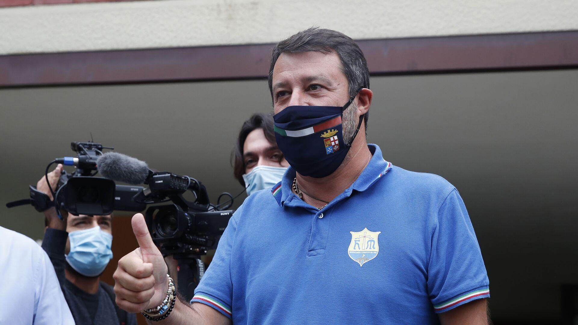 Matteo Salvini - Sputnik Italia, 1920, 13.02.2021