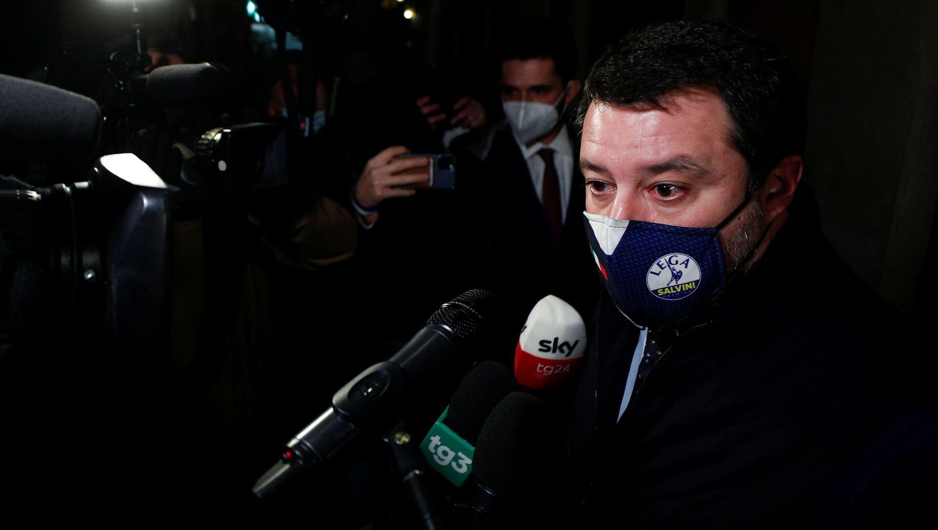 Matteo Salvini - Sputnik Italia, 1920, 05.02.2021