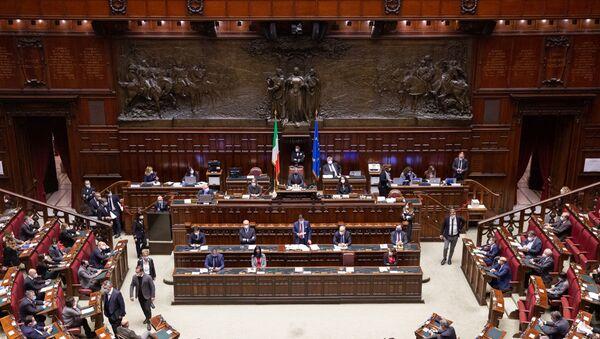 Camera dei Deputati, le Comunicazioni del Presidente Conte in vista del Consiglio europeo del 10-11 dicembre - Sputnik Italia