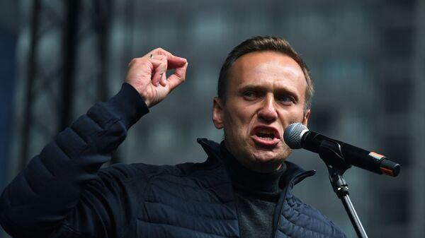 L'oppositore russo Alexey Navalny - Sputnik Italia