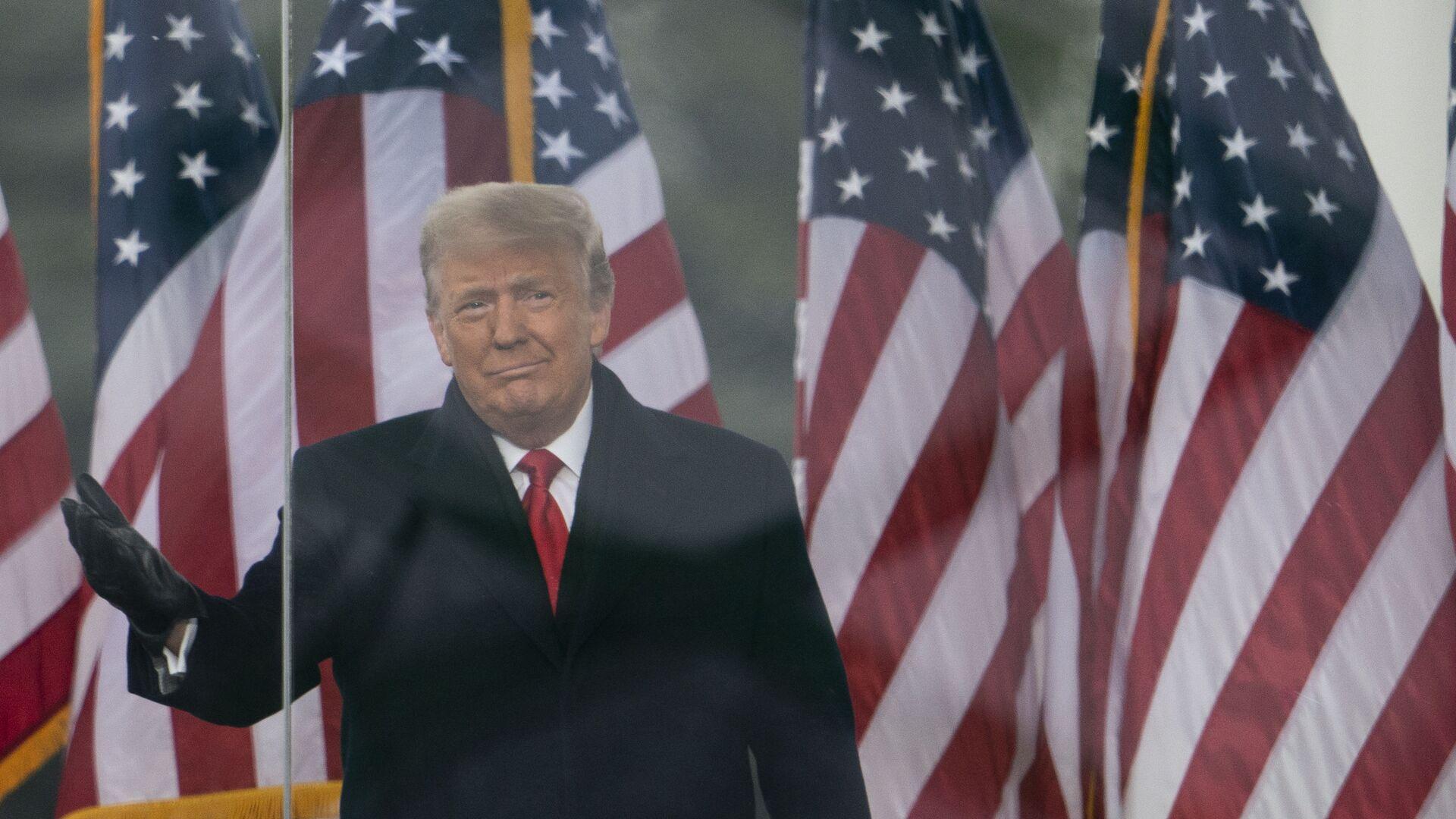 Donald Trump - Sputnik Italia, 1920, 20.04.2021