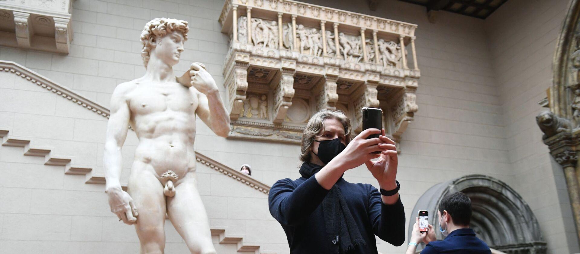 David di Michelangelo, il museo di Pushkin, Mosca - Sputnik Italia, 1920, 23.01.2021