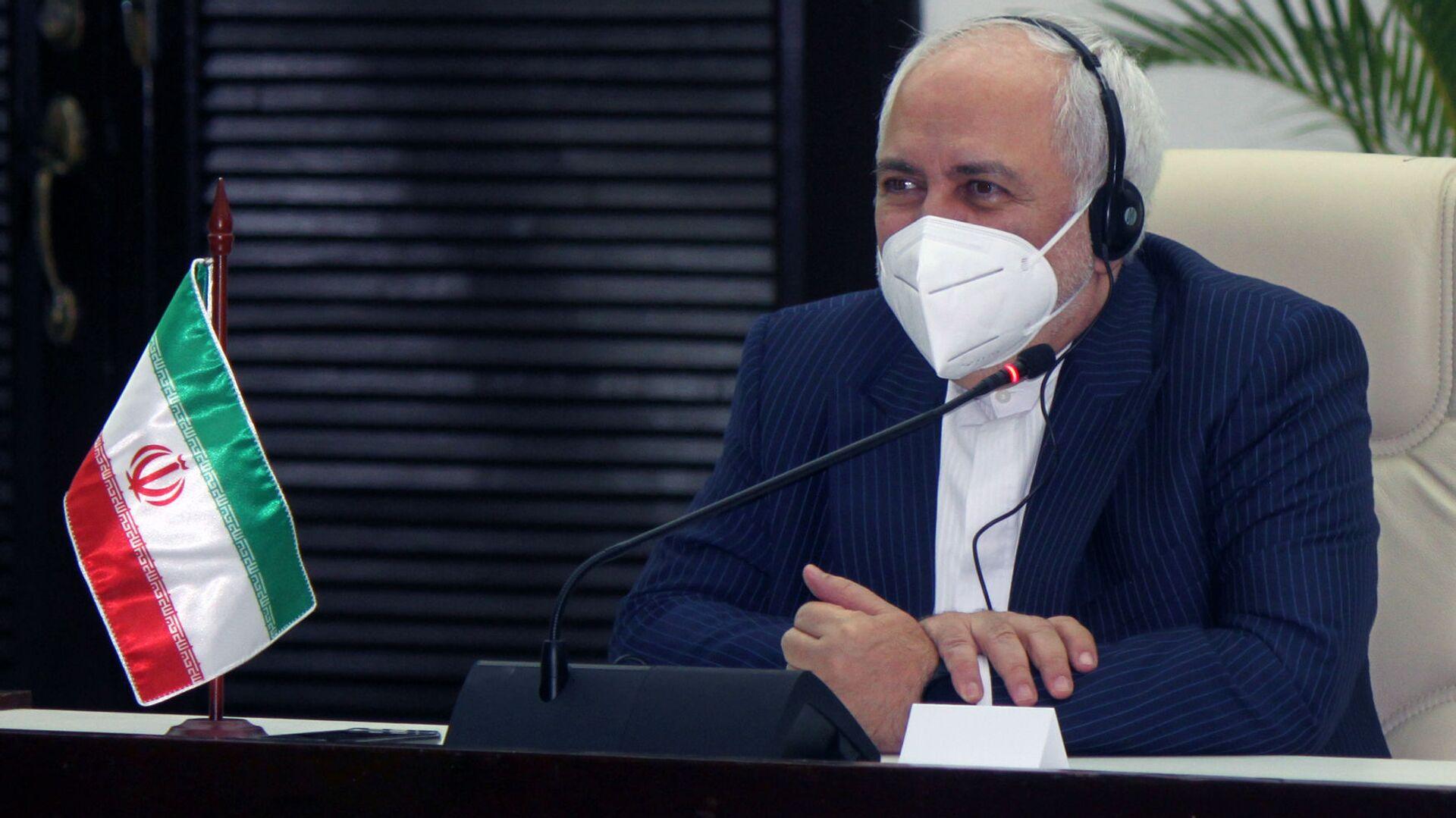 Mohamad Yavad Zarif, ministro degli esteri Iran - Sputnik Italia, 1920, 19.02.2021