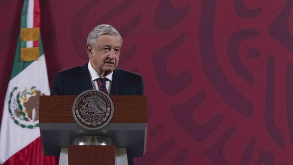 Il presidente del Messico Andrés Manuel López Obrador - Sputnik Italia