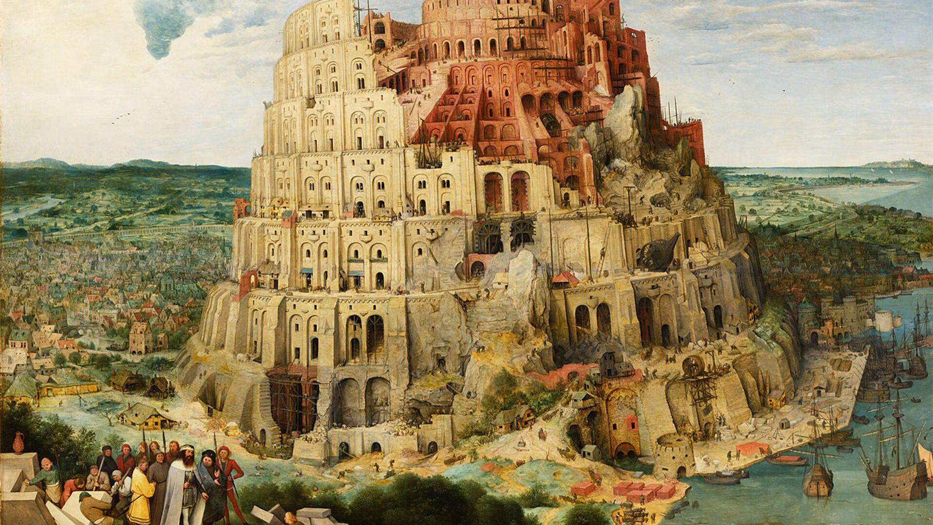 Torre di Babele - Sputnik Italia, 1920, 01.06.2021