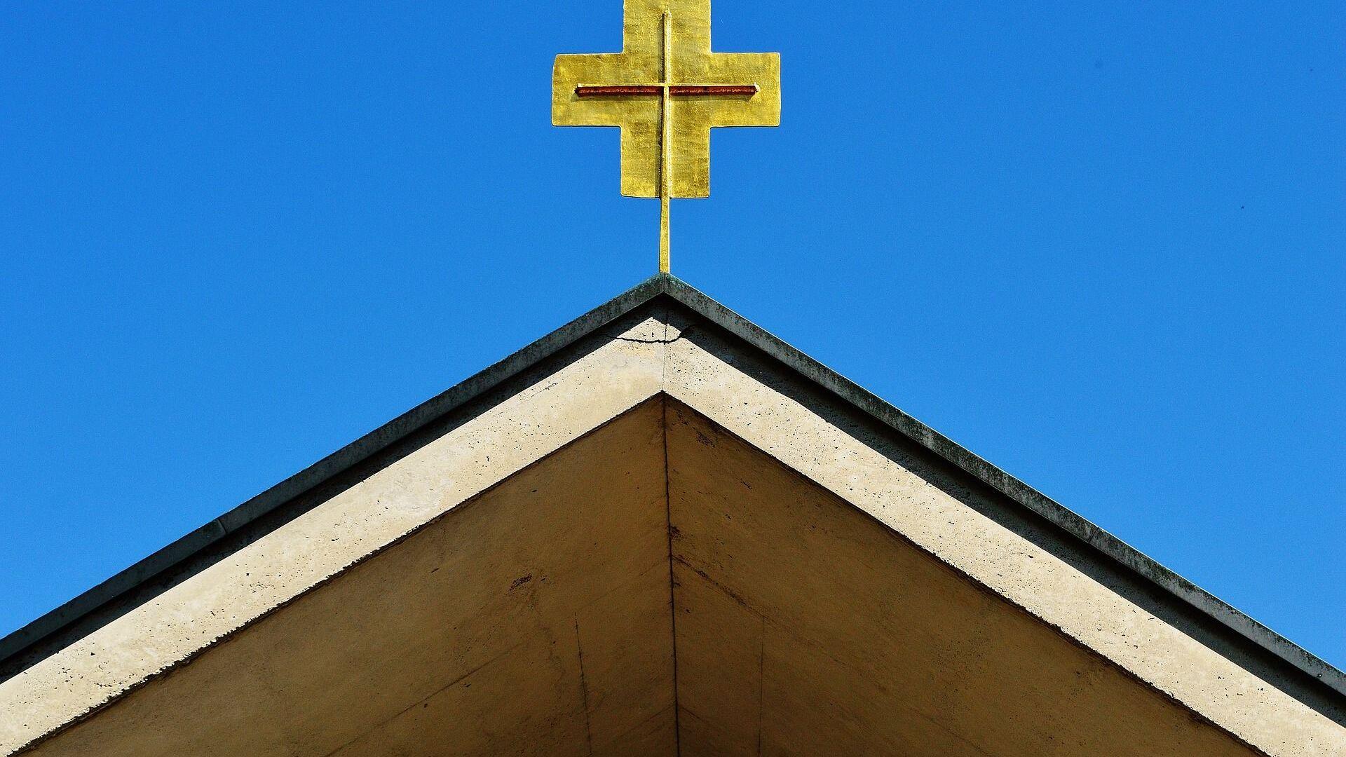 La croce di una chiesa - Sputnik Italia, 1920, 16.07.2021