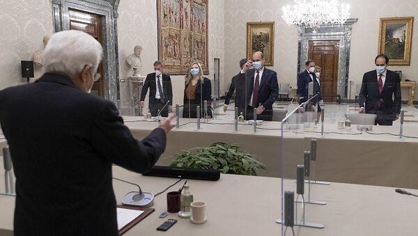 """Consultazioni - Gruppi Parlamentari """"Partito Democratico"""" del Senato della Repubblica e della Camera dei Deputati - Sputnik Italia"""