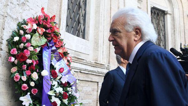 Denis Verdini al funerale di Paolo Bonaiuti - Sputnik Italia