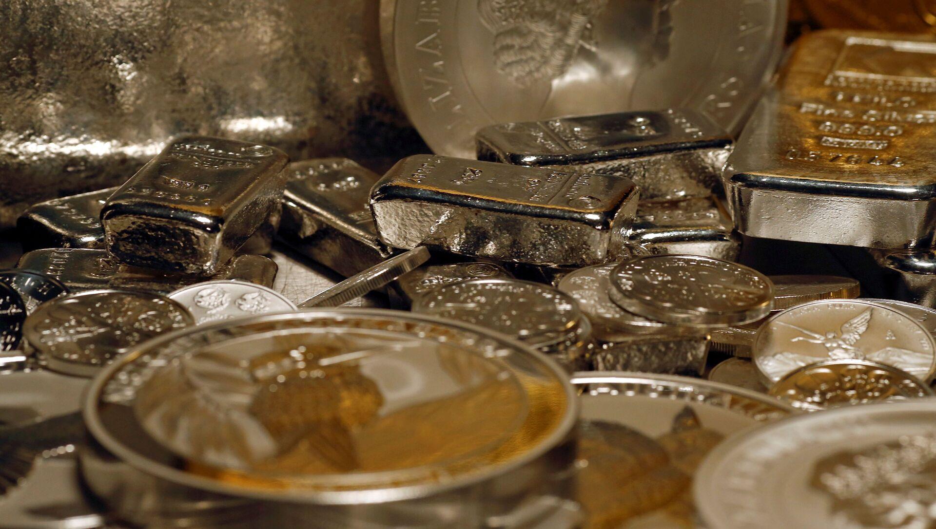lingotti d'argento - Sputnik Italia, 1920, 01.02.2021