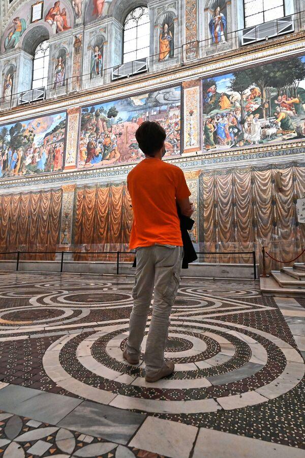 I Musei Vaticani non erano mai rimasti chiusi così a lungo, bisogna infatti risalire alla seconda guerra mondiale per rintracciare un periodo di chiusura così prolungato. - Sputnik Italia