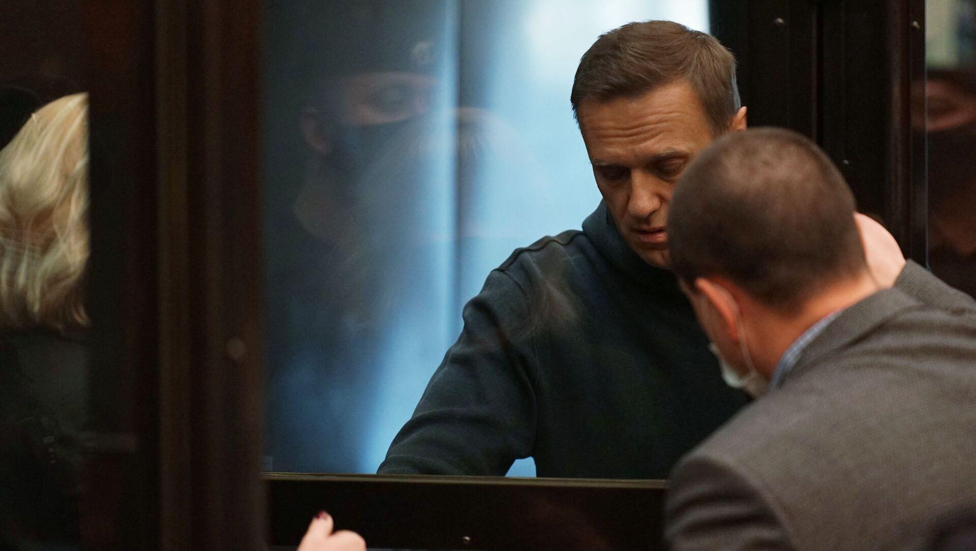 Alexey Navalny durante l'udienza - Sputnik Italia, 1920, 02.02.2021