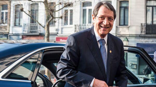 Il presidente di Cipro Nikos Anastasiadis - Sputnik Italia