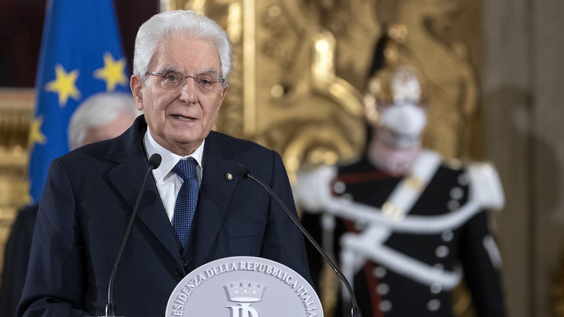 Il presidente Mattarella - Sputnik Italia, 1920, 28.05.2021