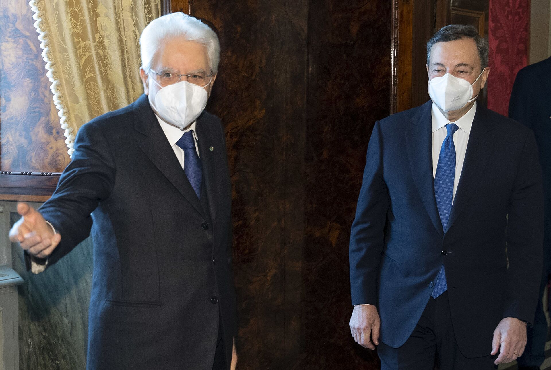 Salvini apre a Mario Draghi: Se le nostre idee coincidono noi ci siamo - Sputnik Italia, 1920, 05.02.2021