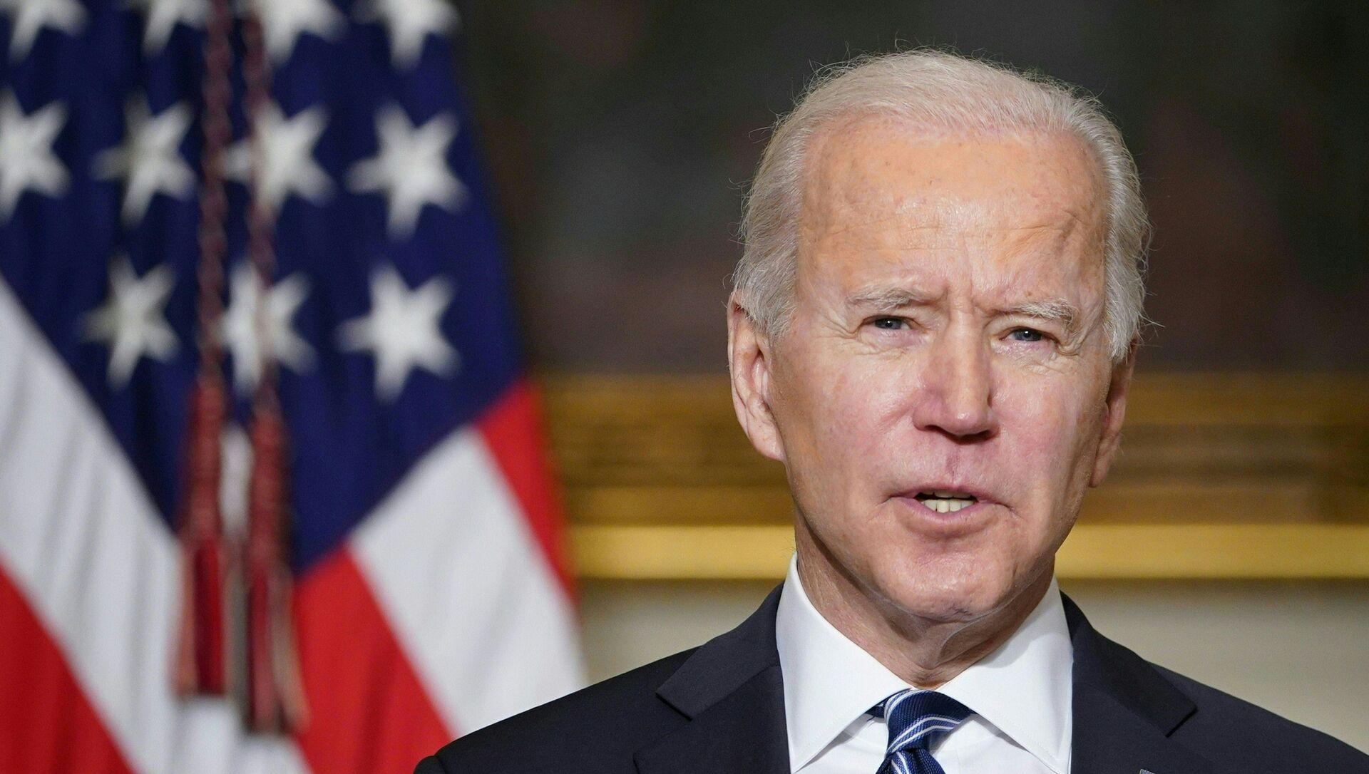 Il presidente degli Stati Uniti Joe Biden - Sputnik Italia, 1920, 20.02.2021