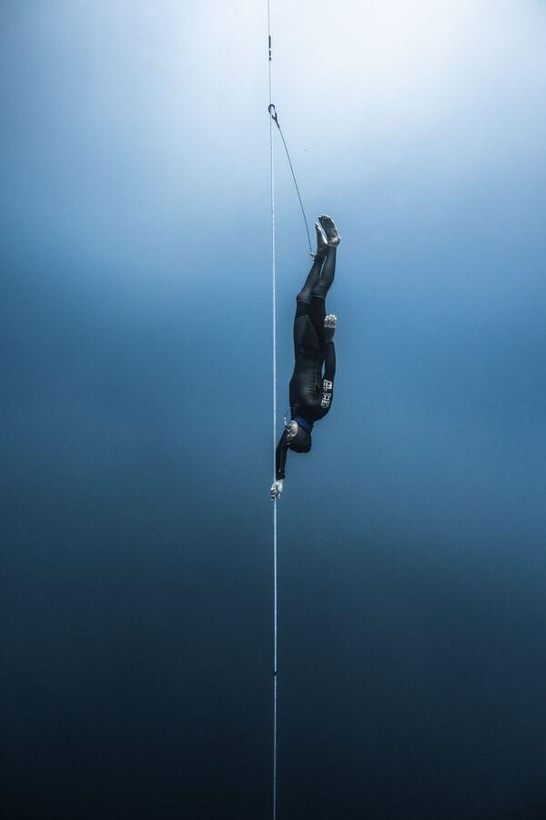 La foto Sotto la superficie dell'apnea competitiva del fotografo giapponese Kohei Ueno, che è stata la vincitrice nella categoria Eventi tra i fotografi professionisti del concorso fotografico Tokyo International Foto Awards 2020. - Sputnik Italia