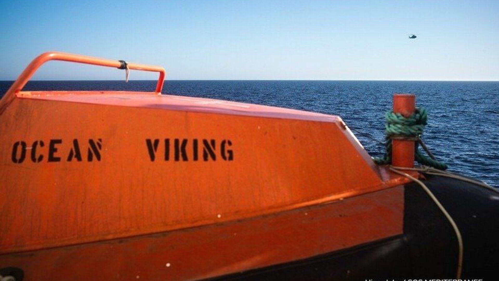 Nave Ocean Viking / Sos Mediterranée - Sputnik Italia, 1920, 31.07.2021