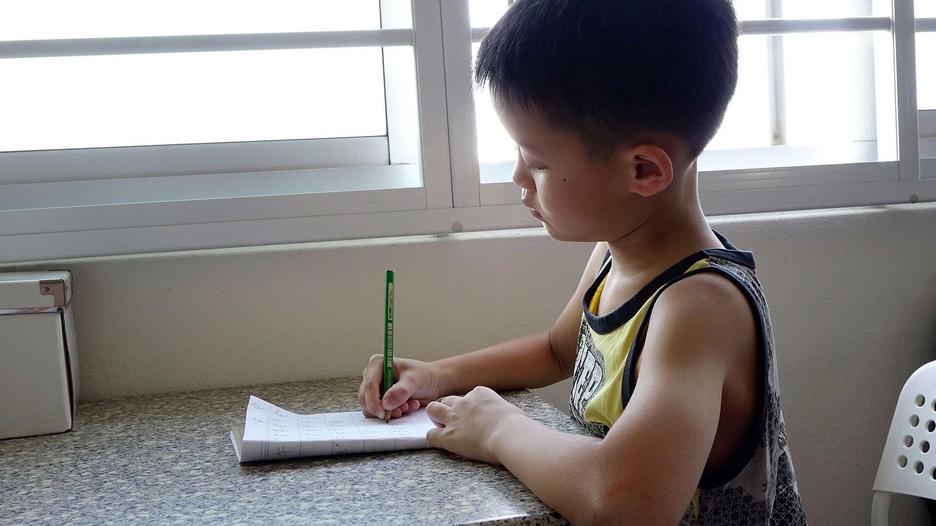 Un bambino cinese a scuola - Sputnik Italia, 1920, 07.02.2021