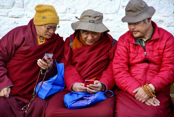 I pellegrini tibetani nella città di Lhasa - Sputnik Italia