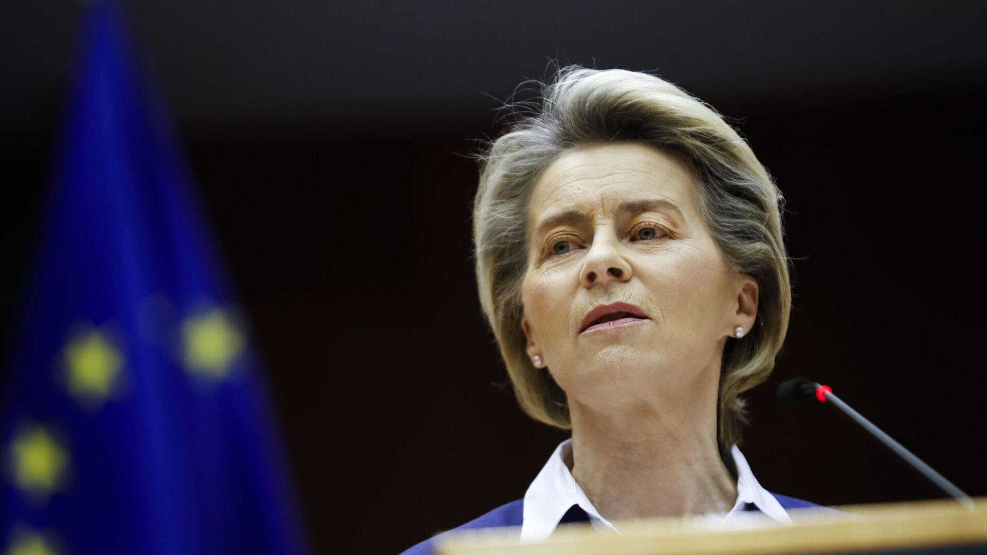 La presidente della Commissione Ursula von der Leyen - Sputnik Italia, 1920, 21.05.2021
