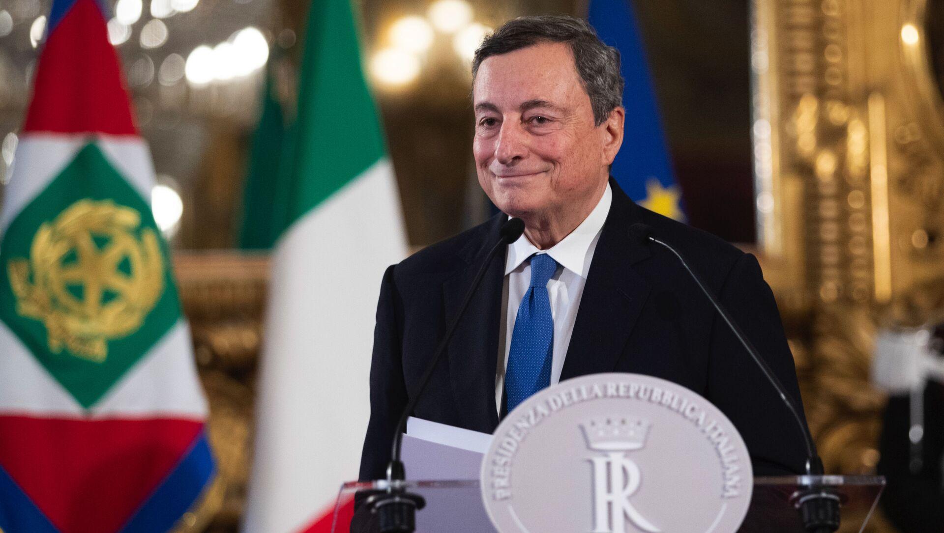 Mario Draghi - Sputnik Italia, 1920, 12.02.2021