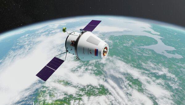 Rendering della navicella Orel - Sputnik Italia