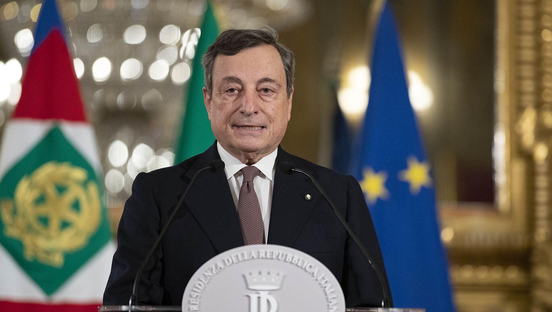 Mario Draghi annuncia la sua squadra dei ministri - Sputnik Italia, 1920, 16.02.2021
