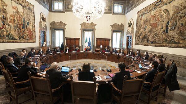 Primo Consiglio dei ministri del Governo Draghi - Sputnik Italia