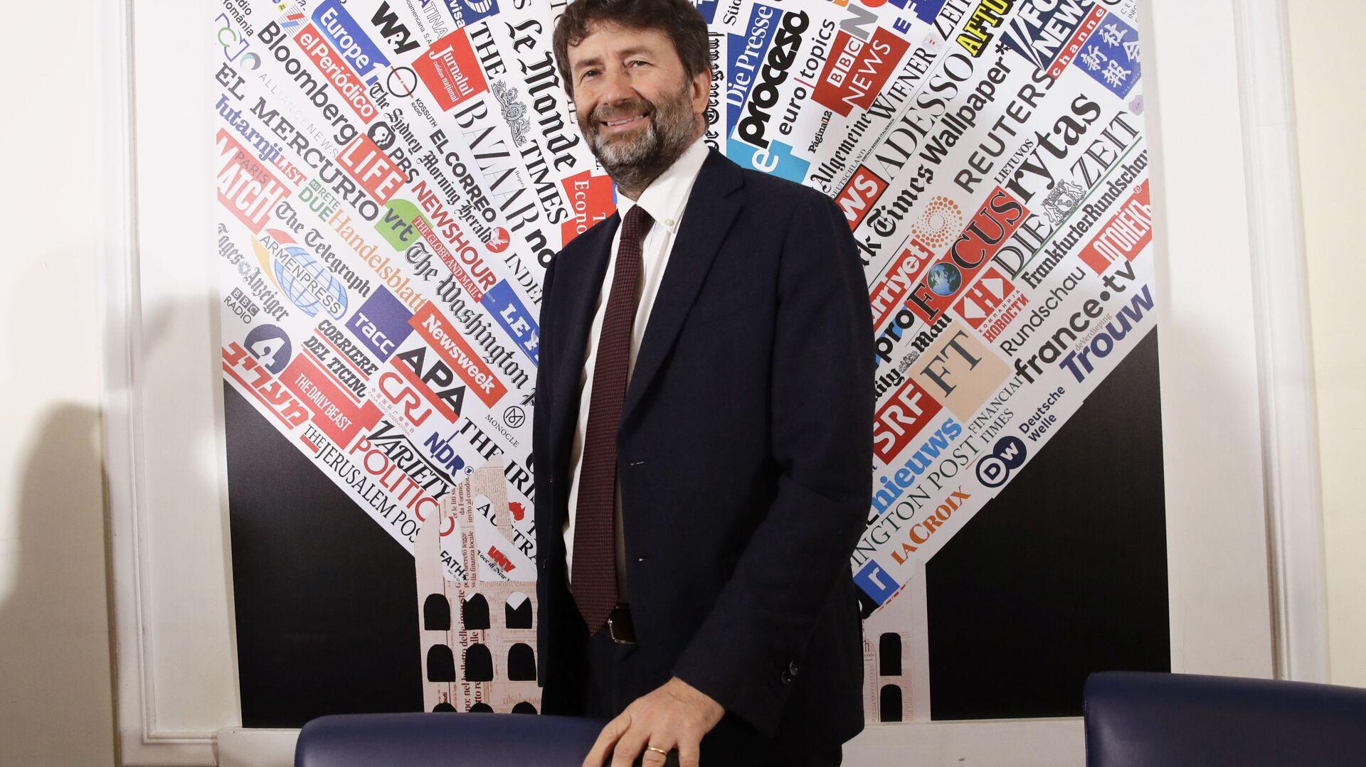 Dario Franceschini, Ministro per i beni e le attività culturali - Sputnik Italia, 1920, 22.02.2021