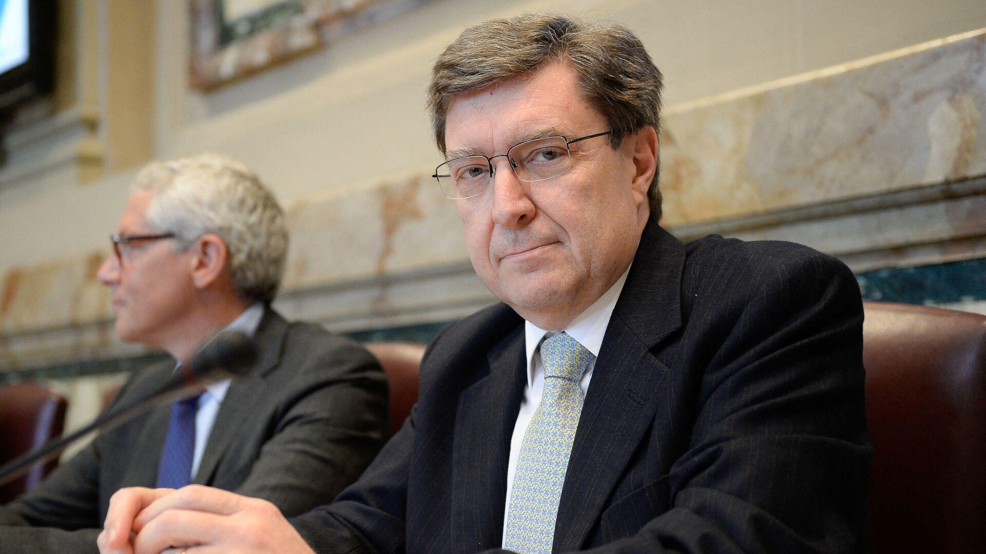 Enrico Giovannini, nuovo Ministro Infrastrutture e Trasporti - Sputnik Italia, 1920, 22.09.2021