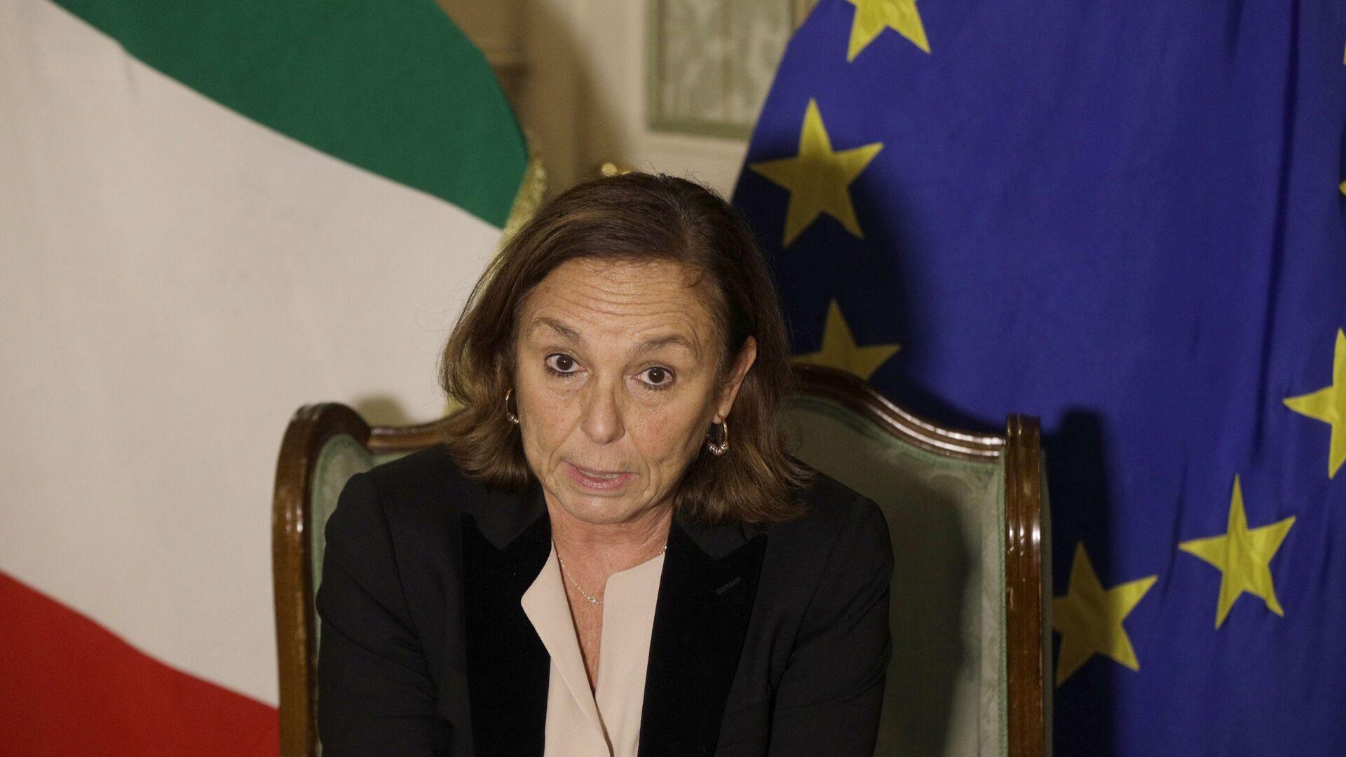 Luciana Lamorgese, ministra dell'Interno - Sputnik Italia, 1920, 06.04.2021