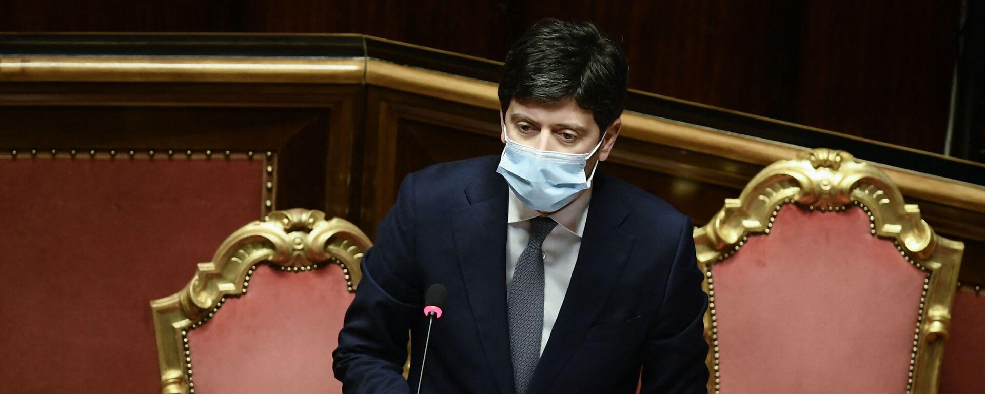 Roberto Speranza, ministro della Salute - Sputnik Italia, 1920, 24.05.2021
