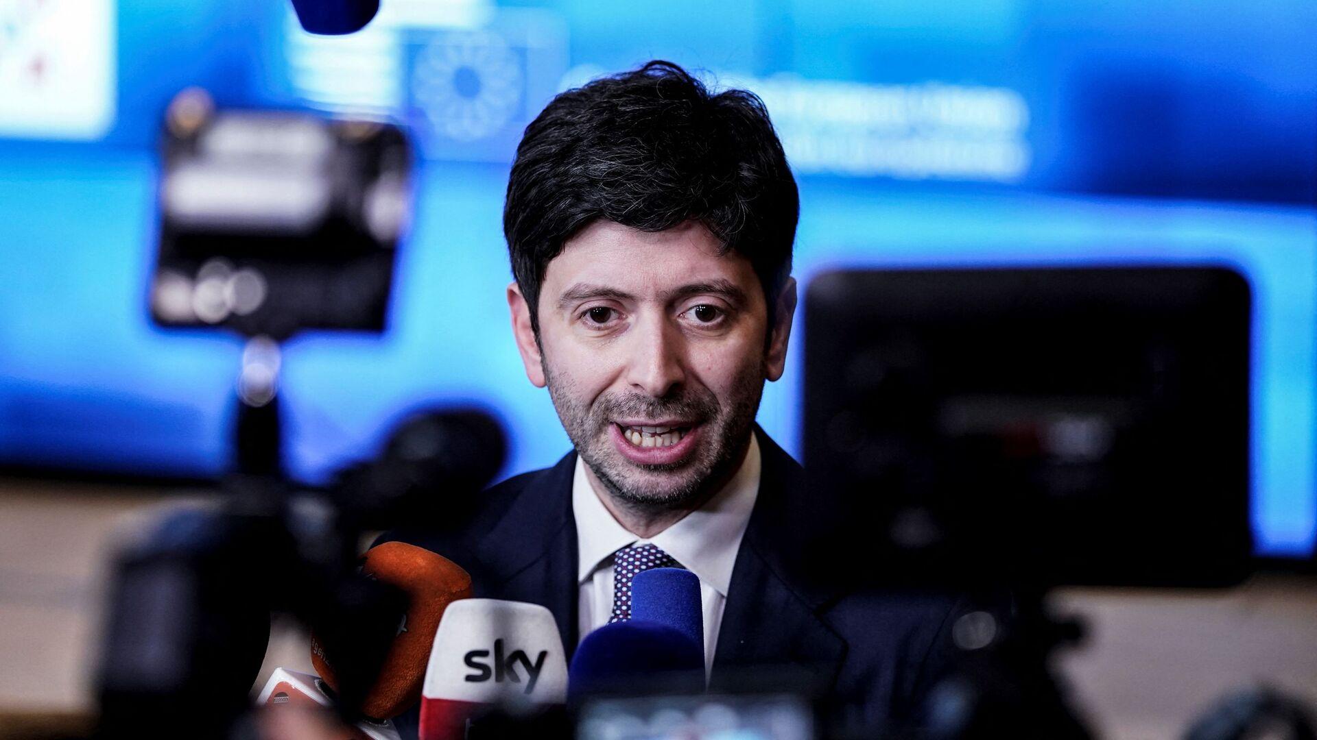 Roberto Speranza, ministro della Salute - Sputnik Italia, 1920, 25.09.2021
