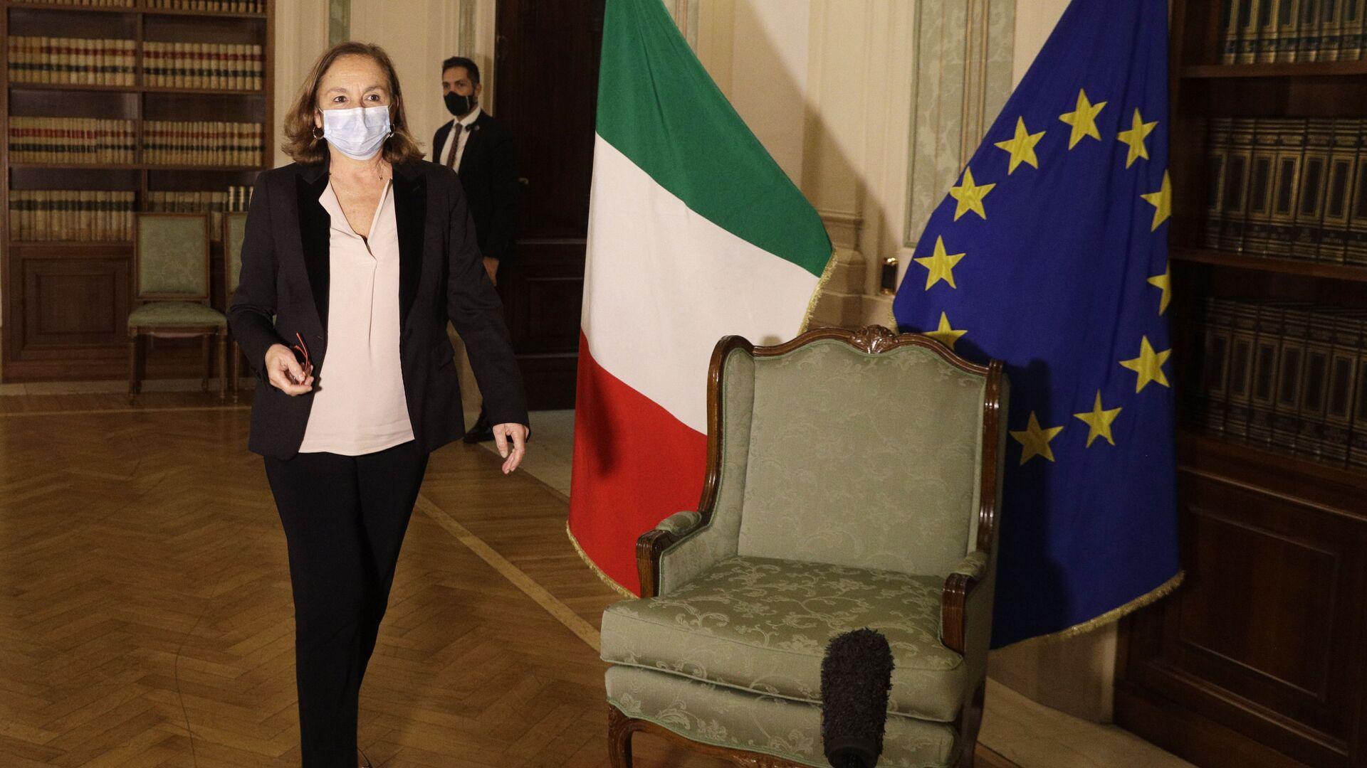 Luciana Lamorgese, ministra dell'Interno - Sputnik Italia, 1920, 08.04.2021