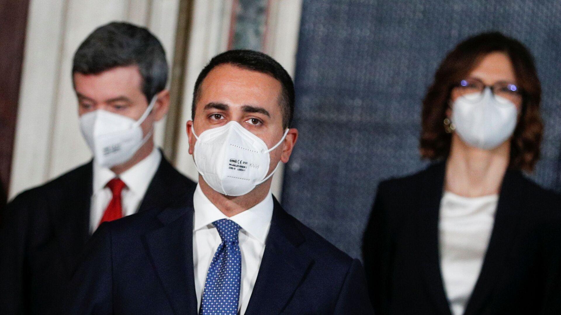 Luigi Di Maio, Ministro degli affari esteri e della cooperazione internazionale - Sputnik Italia, 1920, 25.02.2021