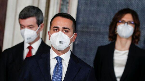 Luigi Di Maio, Ministro degli affari esteri e della cooperazione internazionale - Sputnik Italia