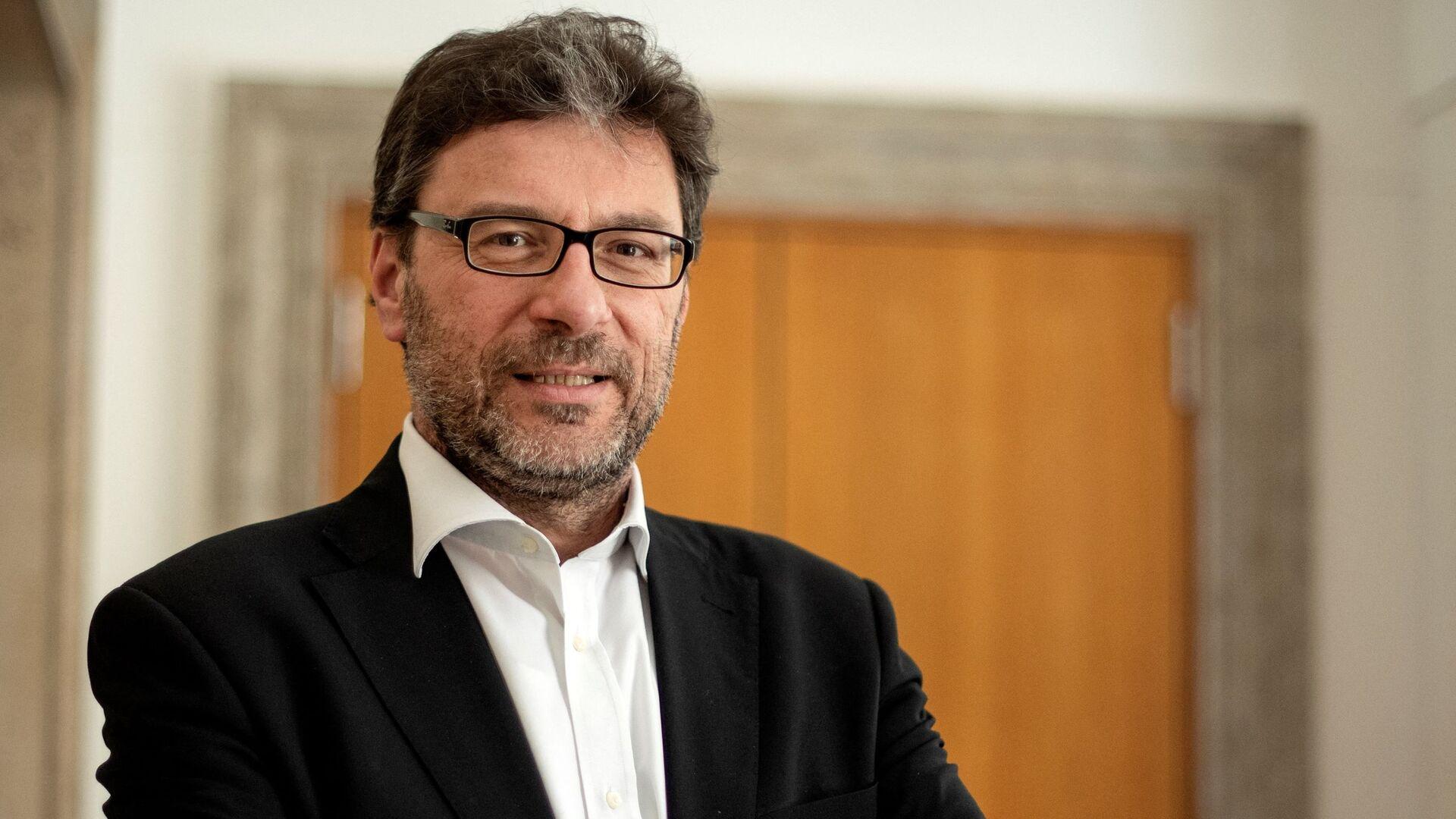 Giancarlo Giorgetti, nuovo Ministro dello Sviluppo Economico - Sputnik Italia, 1920, 31.03.2021