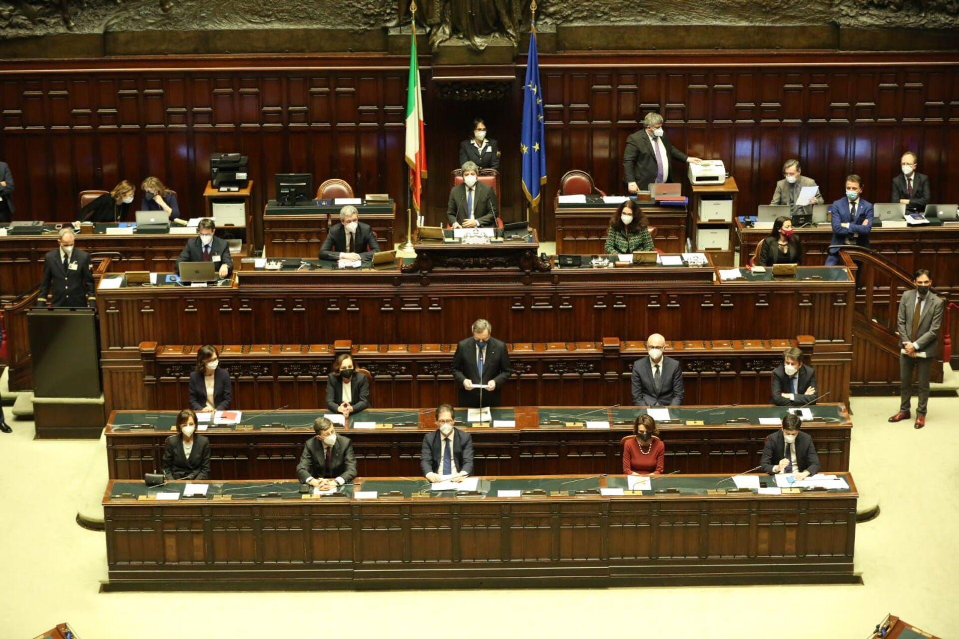 Mario Draghi alla Corte dei Conti: Istituzioni siano coprotagoniste di un percorso di rinascita - Sputnik Italia, 1920, 19.02.2021