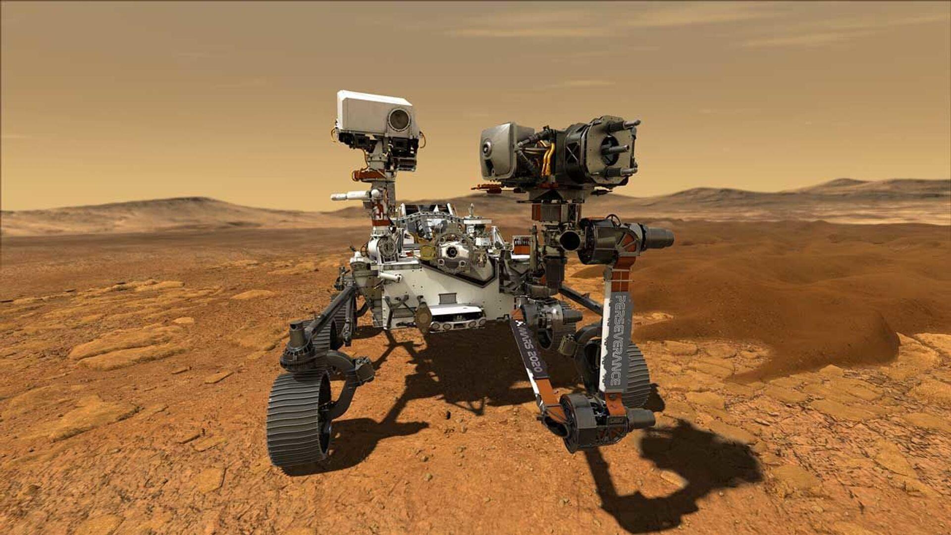 Il rover Perseverance su Marte - Sputnik Italia, 1920, 07.04.2021