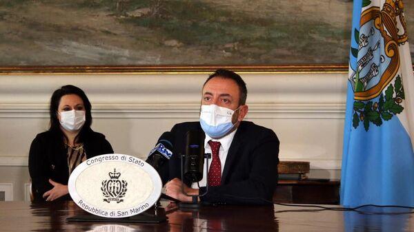 Luca Beccari, Segretario di Stato per gli Affari Esteri della Repubblica di San Marino - Sputnik Italia