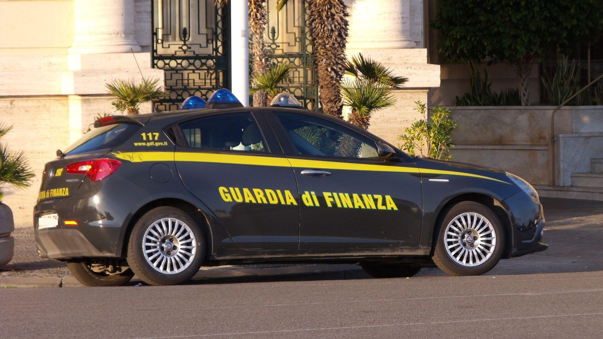 Autovettura guardia di finanza - Sputnik Italia, 1920, 09.04.2021