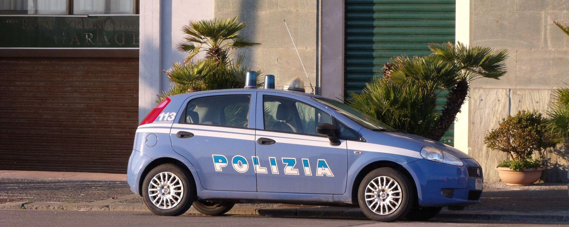 Auto della polizia di stato - Sputnik Italia, 1920, 11.07.2021