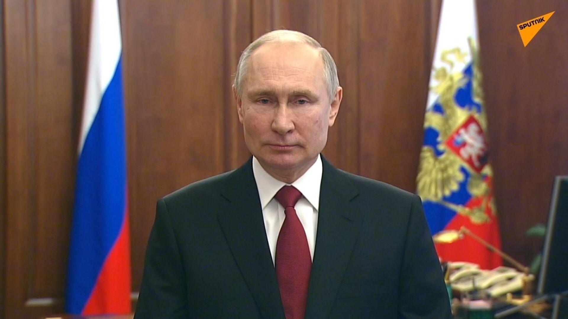 Russia, messaggio di congratulazioni di Putin in occasione della Giornata del difensore della Patria - Sputnik Italia, 1920, 23.02.2021