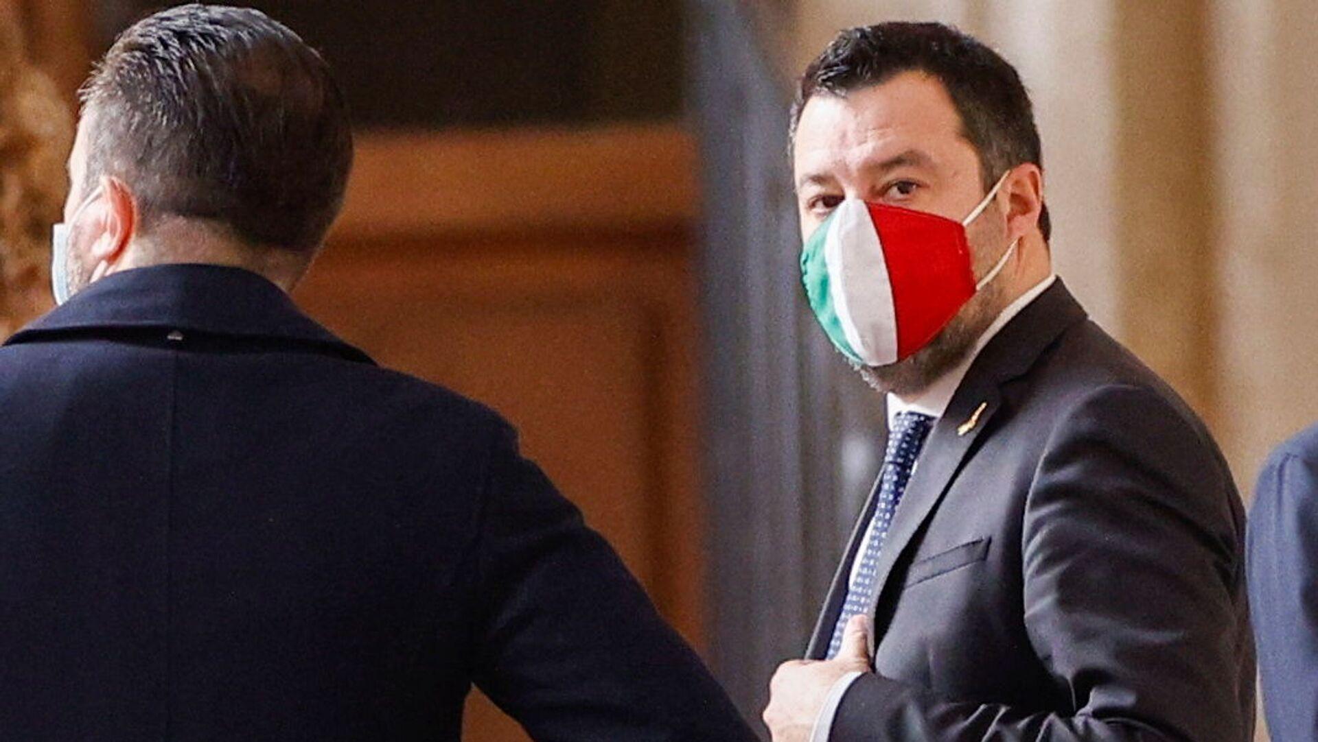 Matteo Salvini  - Sputnik Italia, 1920, 01.08.2021
