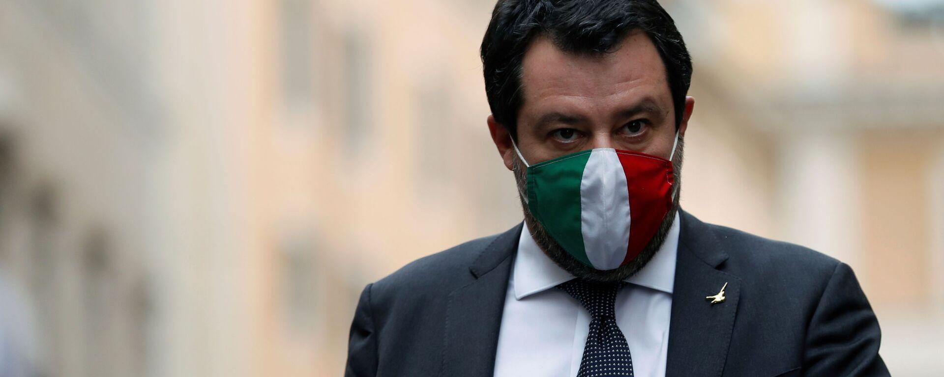 Matteo Salvini  - Sputnik Italia, 1920, 21.03.2021