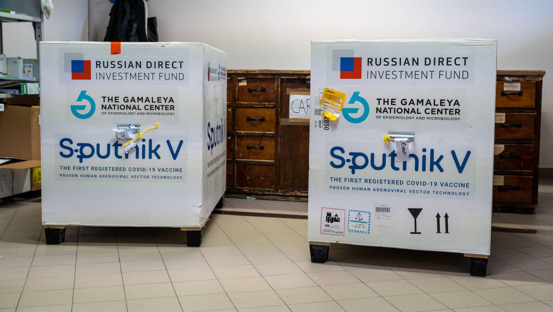 La prima fornitura del vaccino russo Sputnik V a San Marino - Sputnik Italia, 1920, 27.02.2021